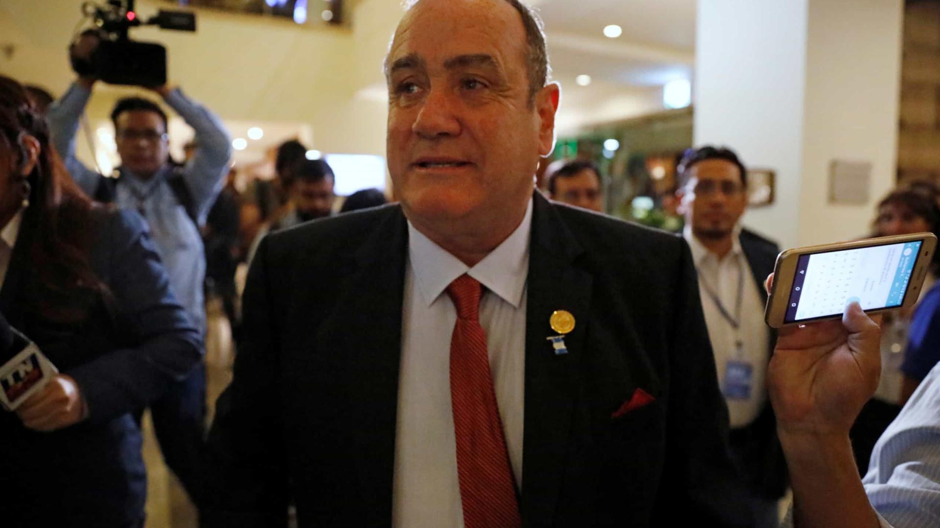 Alejandro Giammattei é eleito novo presidente da Guatemala