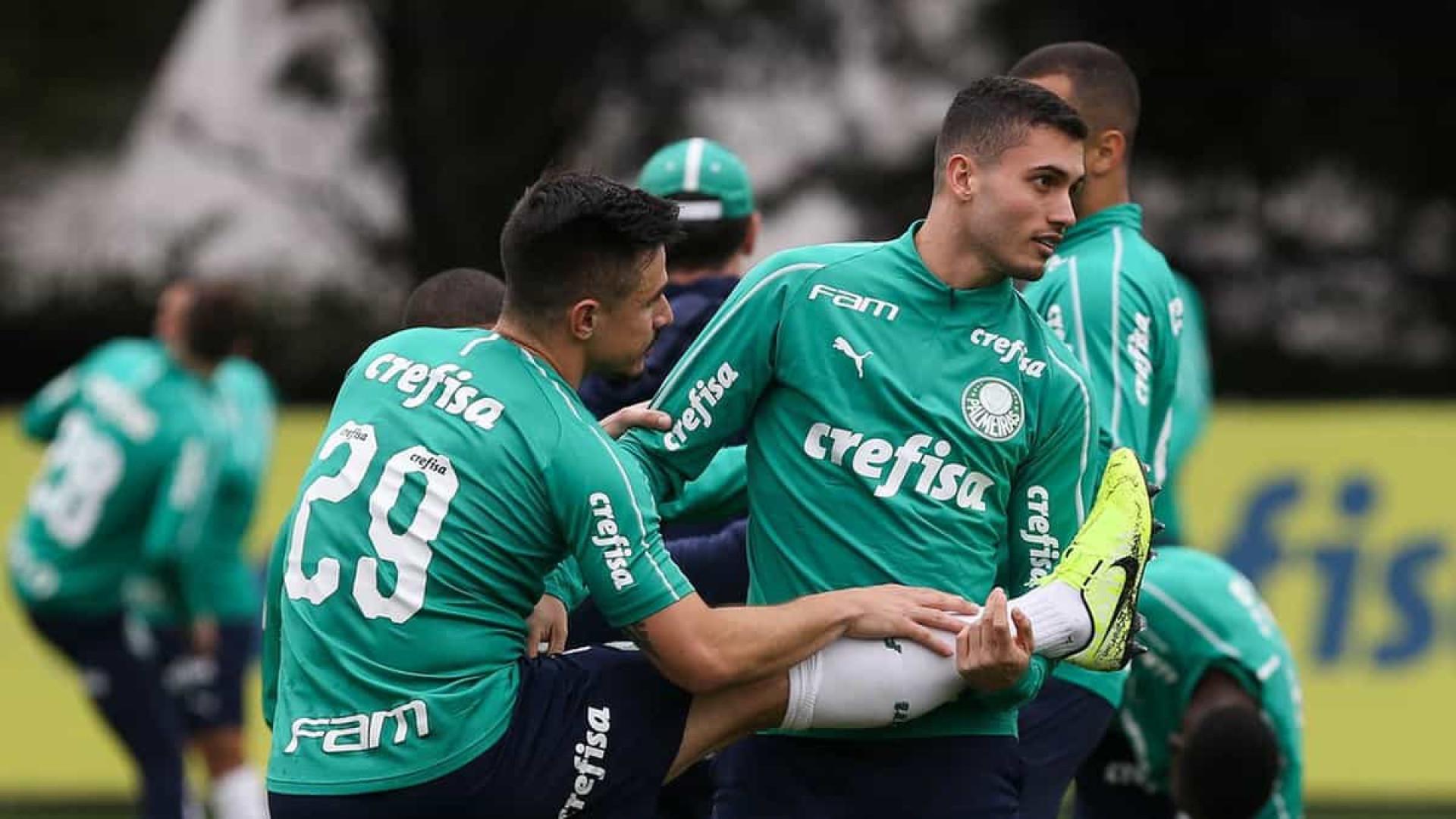 Luan tem lesão confirmada na coxa e vai desfalcar o Palmeiras