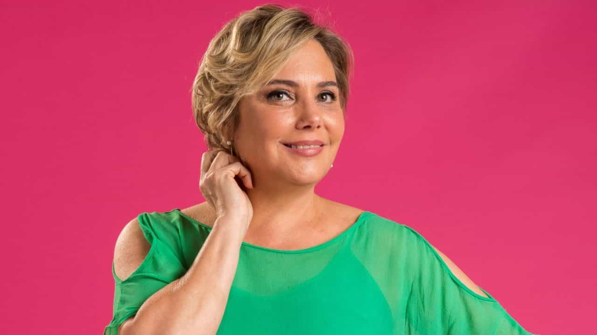 Heloísa Périsse diz que câncer não a fará deixar de sorrir