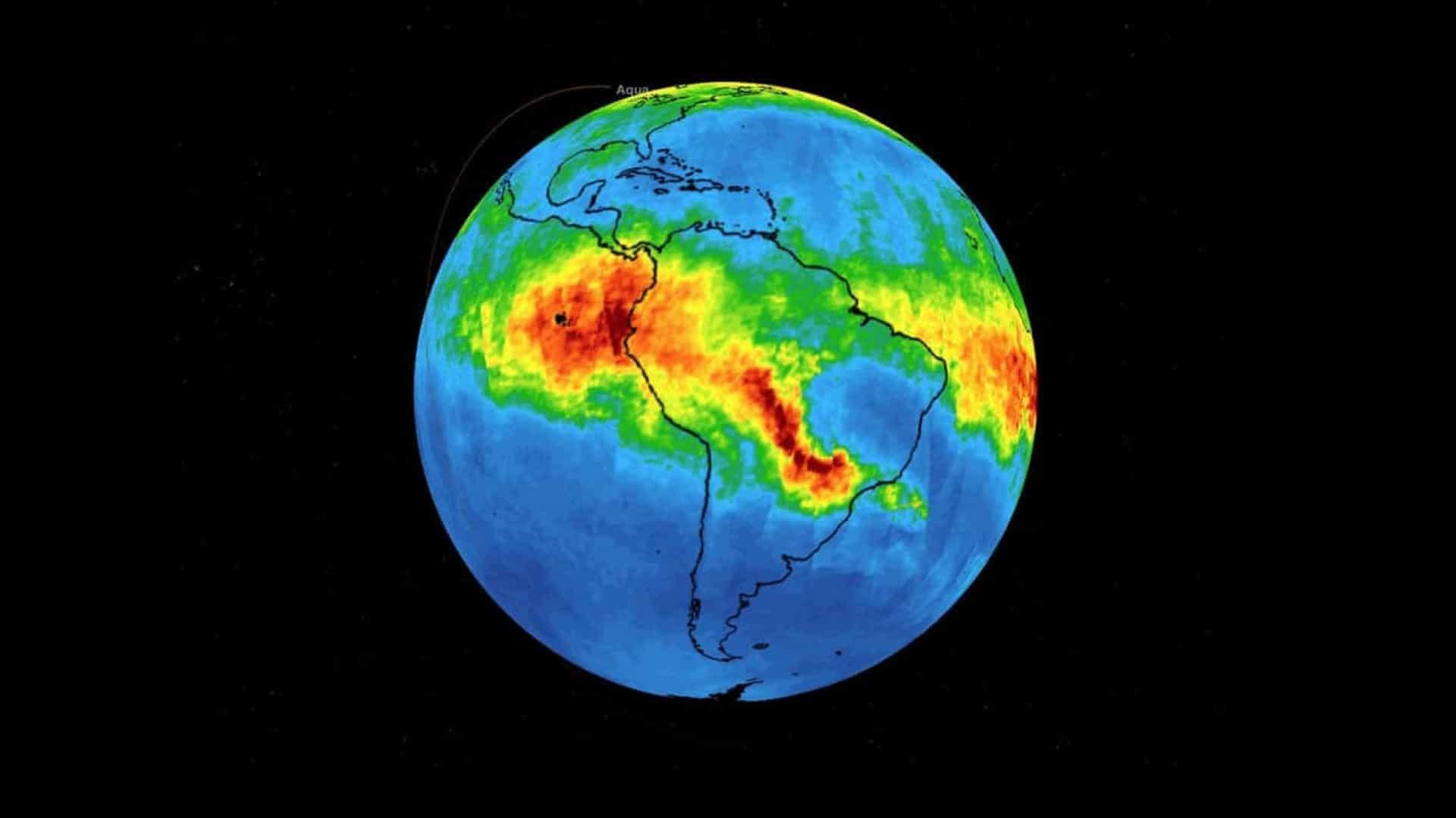 NASA mostra porque incêndios na Amazônia são problema de todos