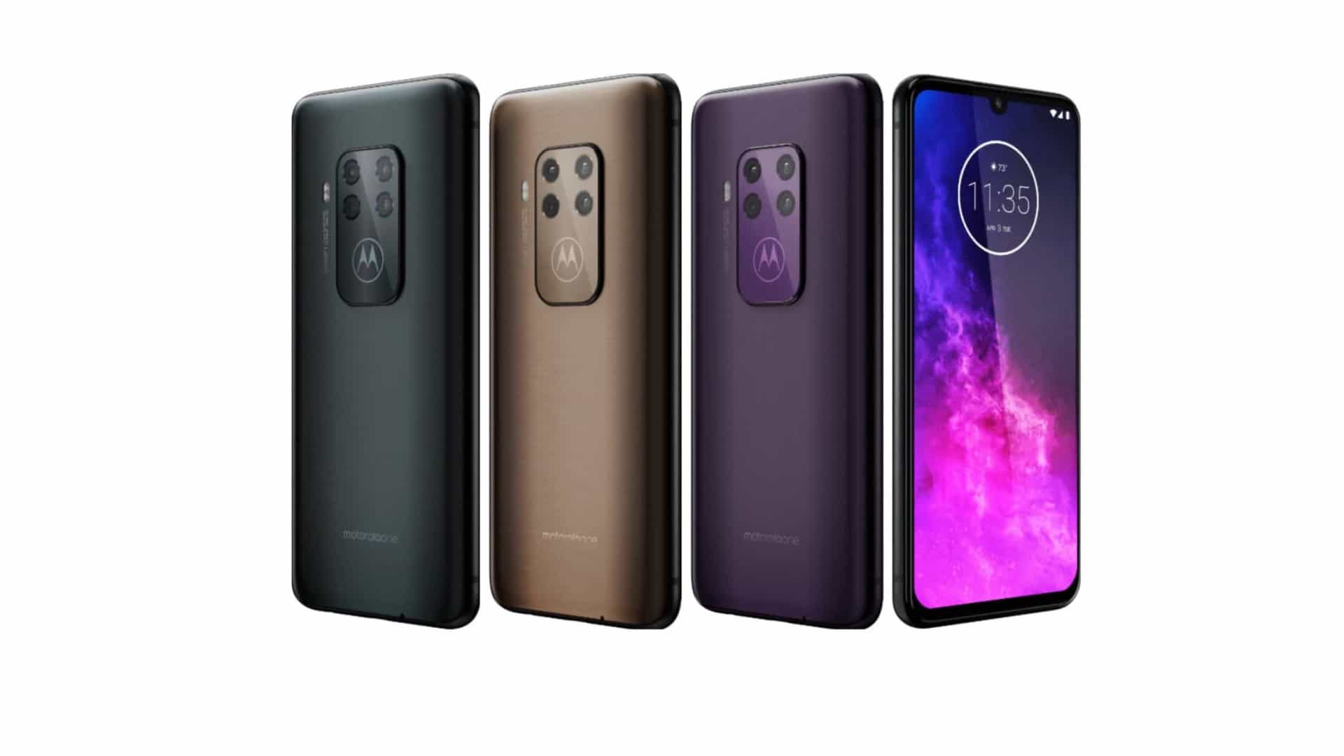 Motorola prepara smartphone com quatro câmaras
