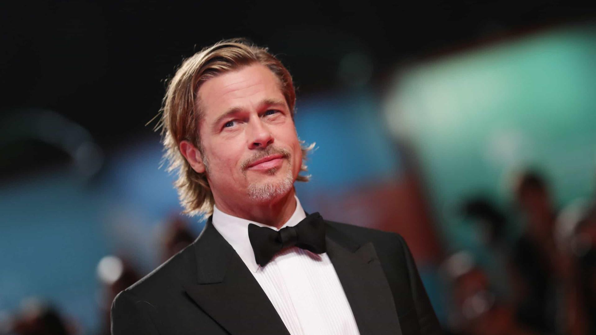 """Brad Pitt defende: """"A masculinidade é uma prisão"""""""