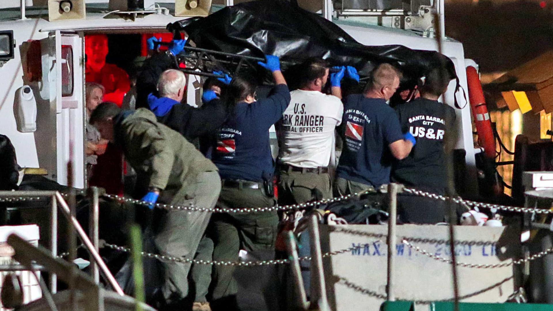 Incêndio em embarcação na Califórnia deixa pelo menos 25 mortos