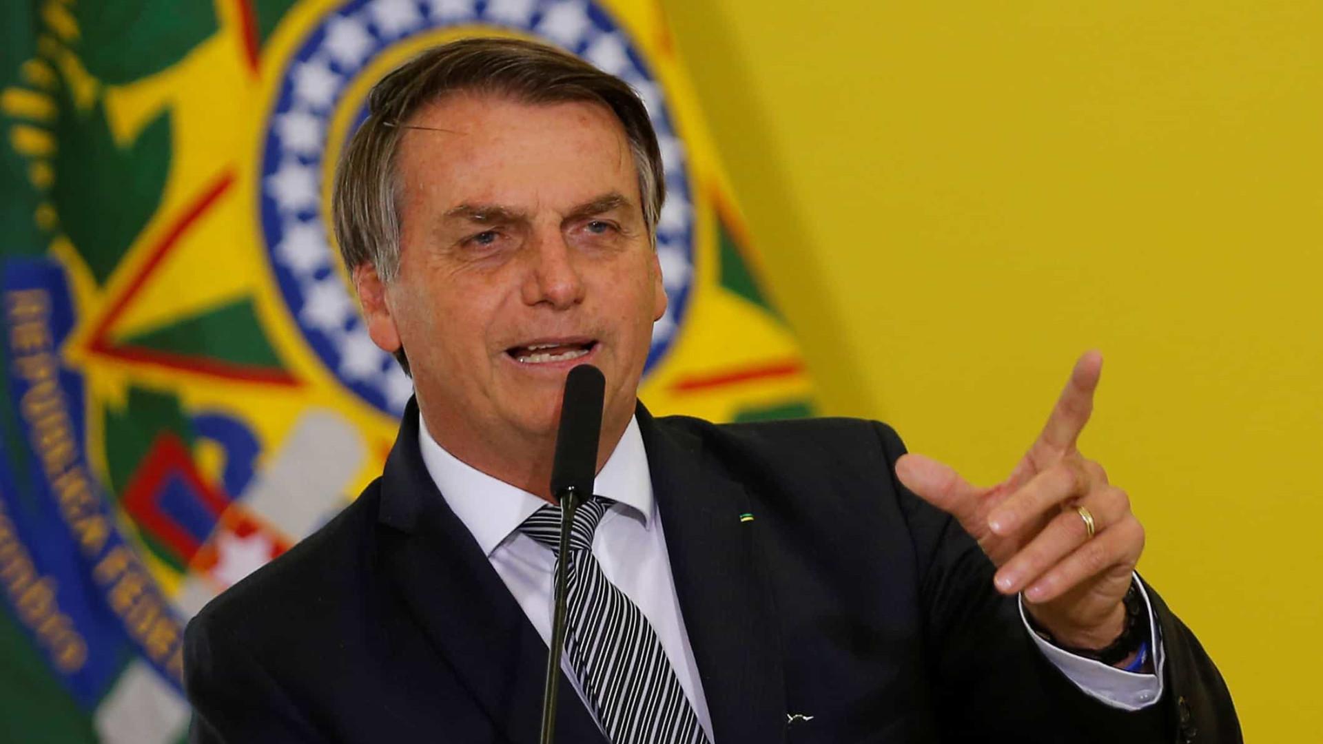 Bolsonaro inaugura ultracentrífuga em fábrica nuclear em Resende