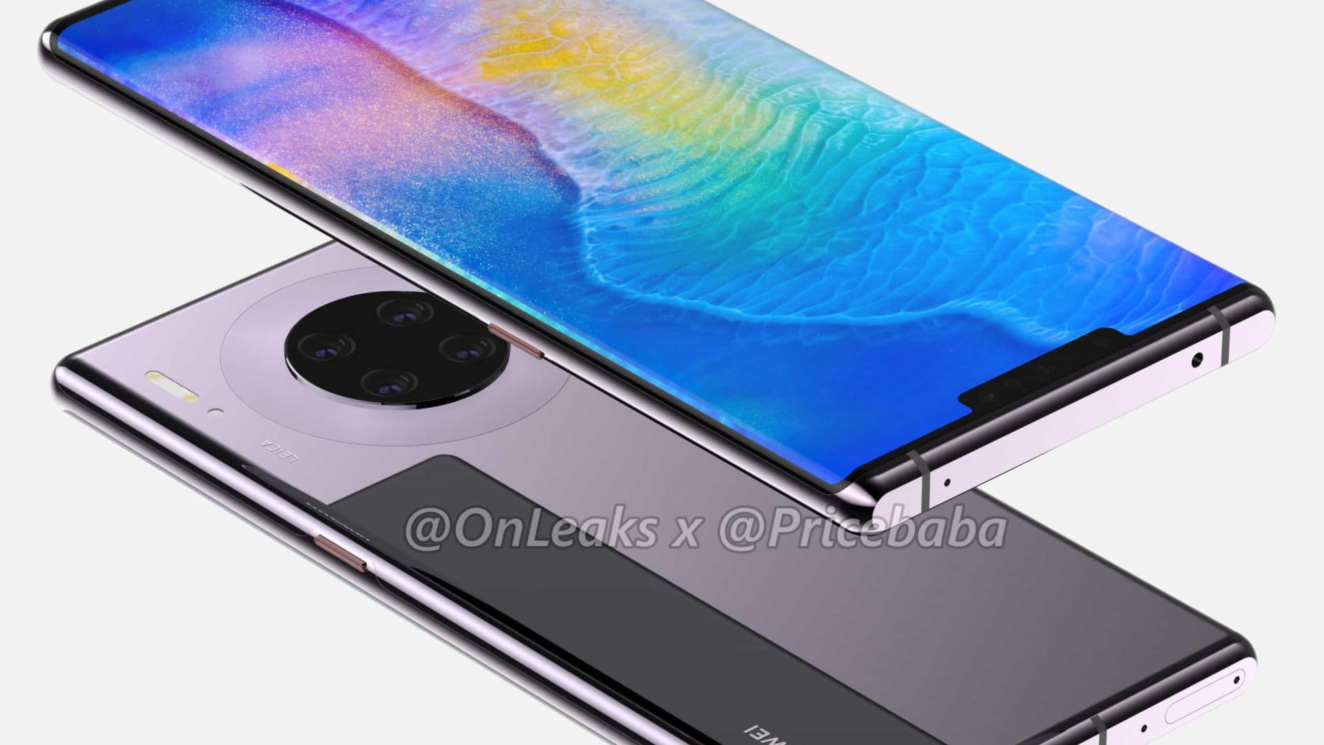 Fuga de informação pode ter revelado detalhes do topo de gama da Huawei