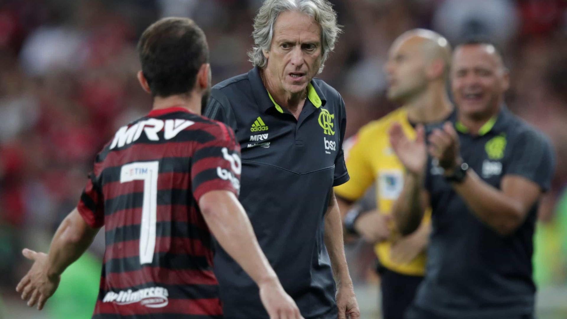 Flamengo: Cláusula prevê saída de Jorge Jesus em dezembro