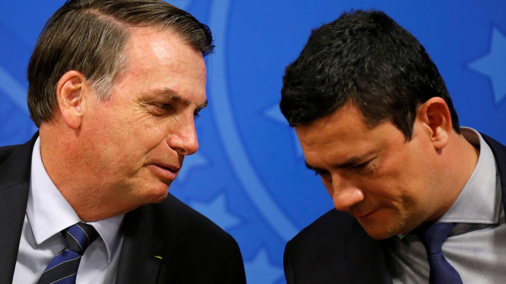 'Com Moro de vice, Bolsonaro ganha no primeiro turno'