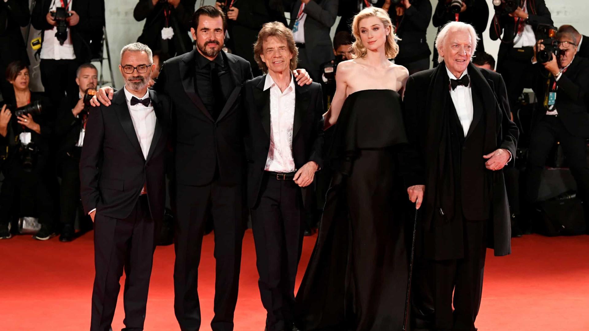 Mick Jagger e Donald Sutherland criticam Trump e Bolsonaro