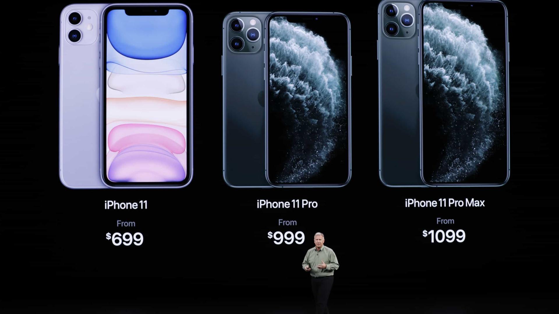 Novos Iphones são apresentados ao público