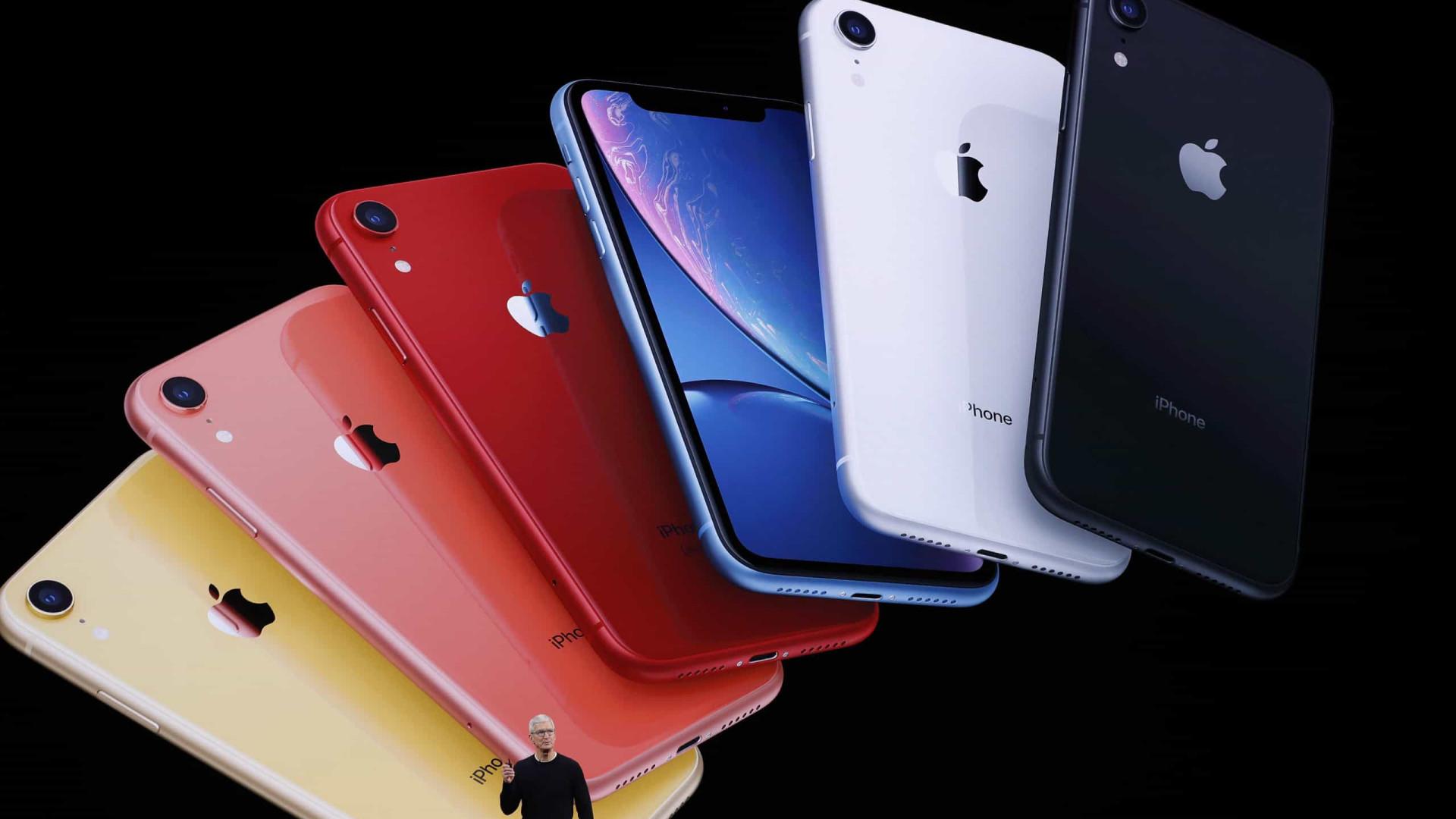 iPhone 11 tem preço de US$ 699 e tela de 6,1 polegadas