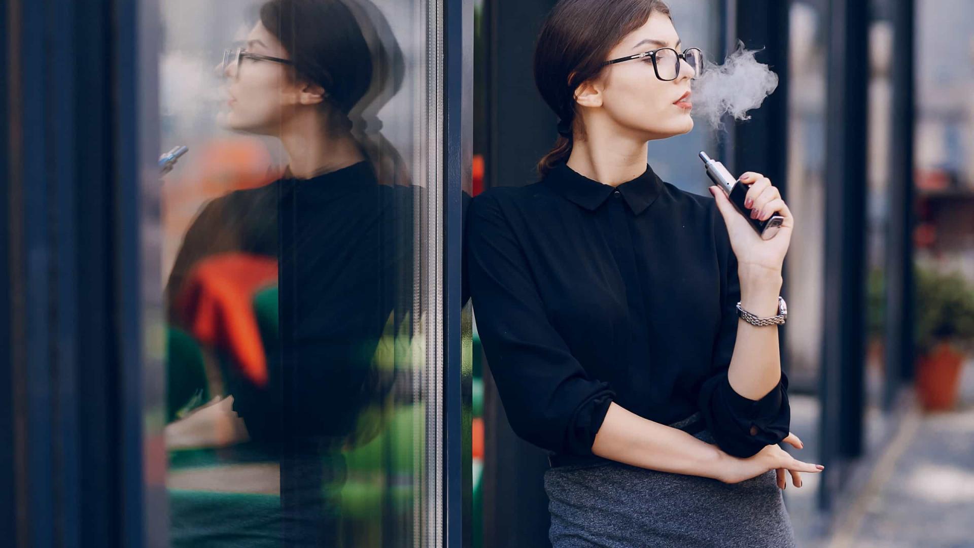 Cigarro eletrônico e tabaco aquecido também têm tóxicos prejudiciais