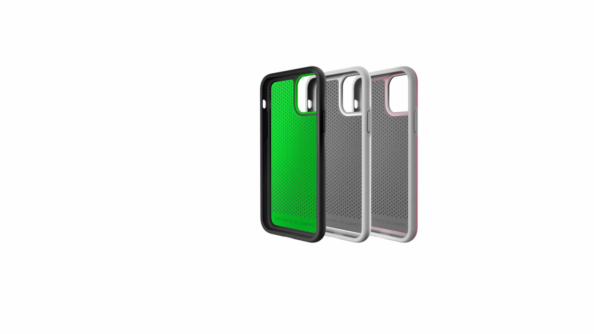 Capas da Razer para os novos iPhones servem para mais do que proteção