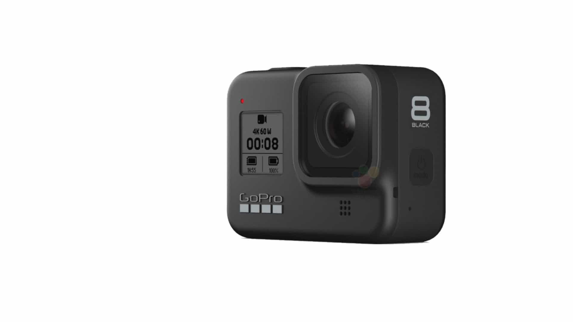 Foram reveladas imagens da nova geração da GoPro