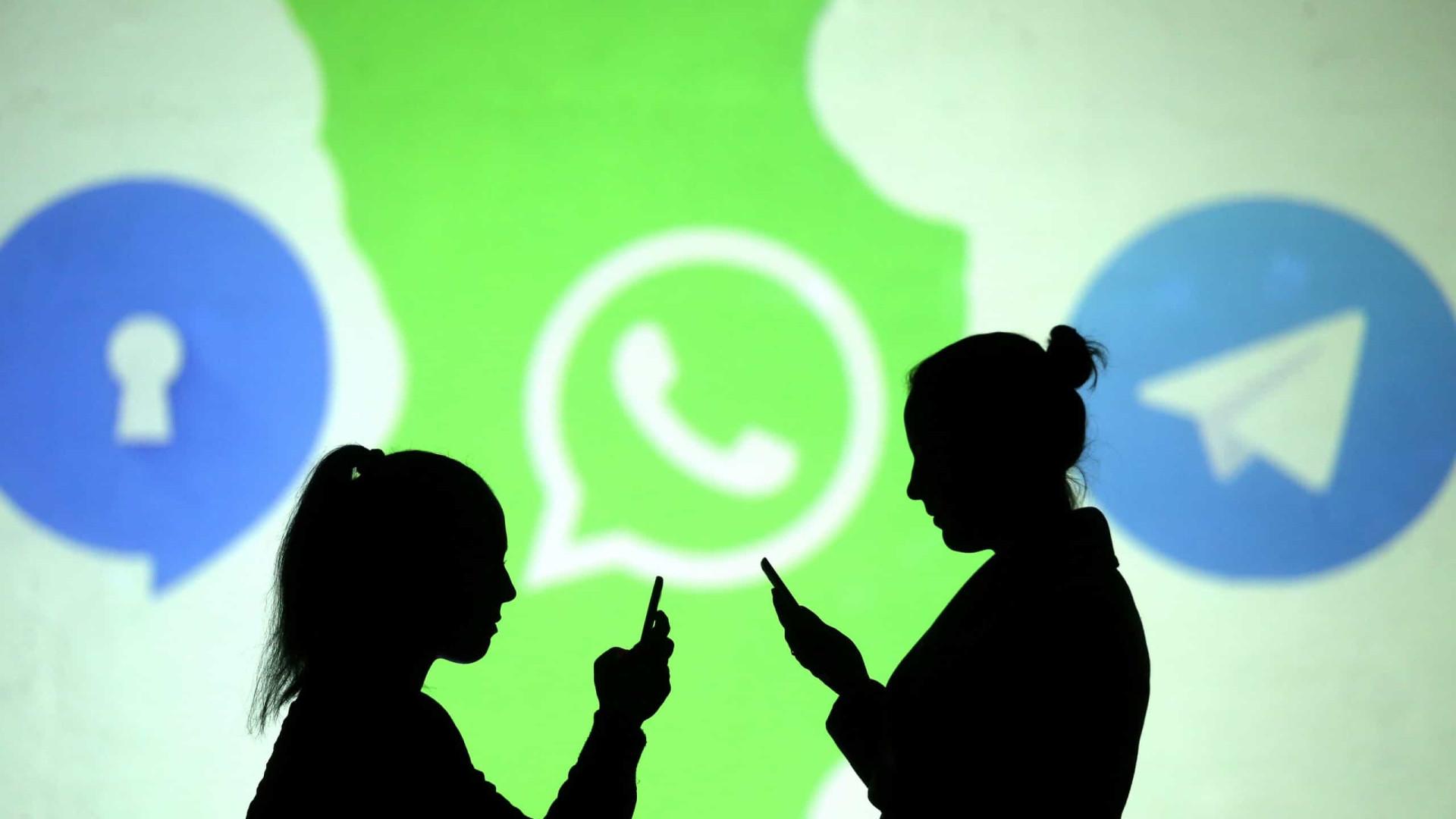 WhatsApp quis exibir-se, mas a Telegram não perdoou