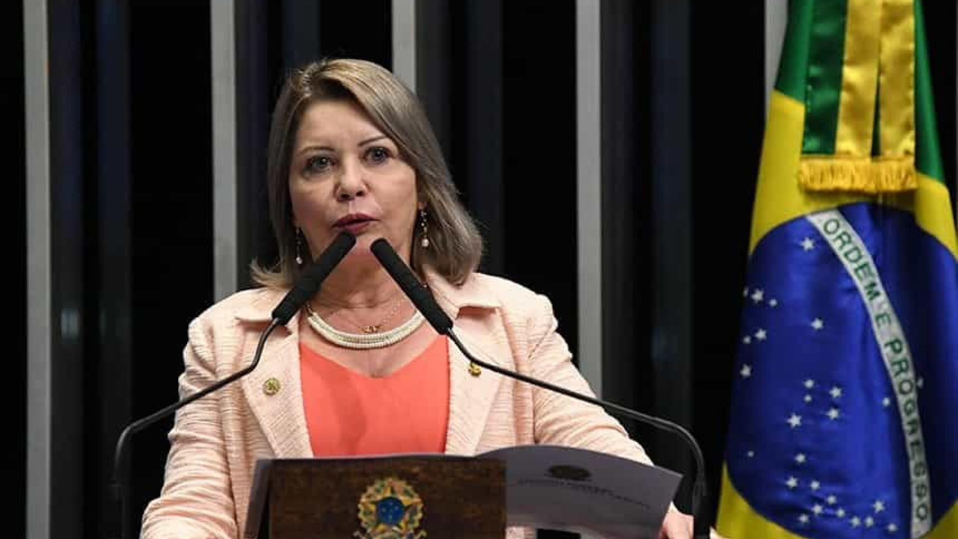 'Jamais trataria mal', diz Flávio Bolsonaro sobre senadora