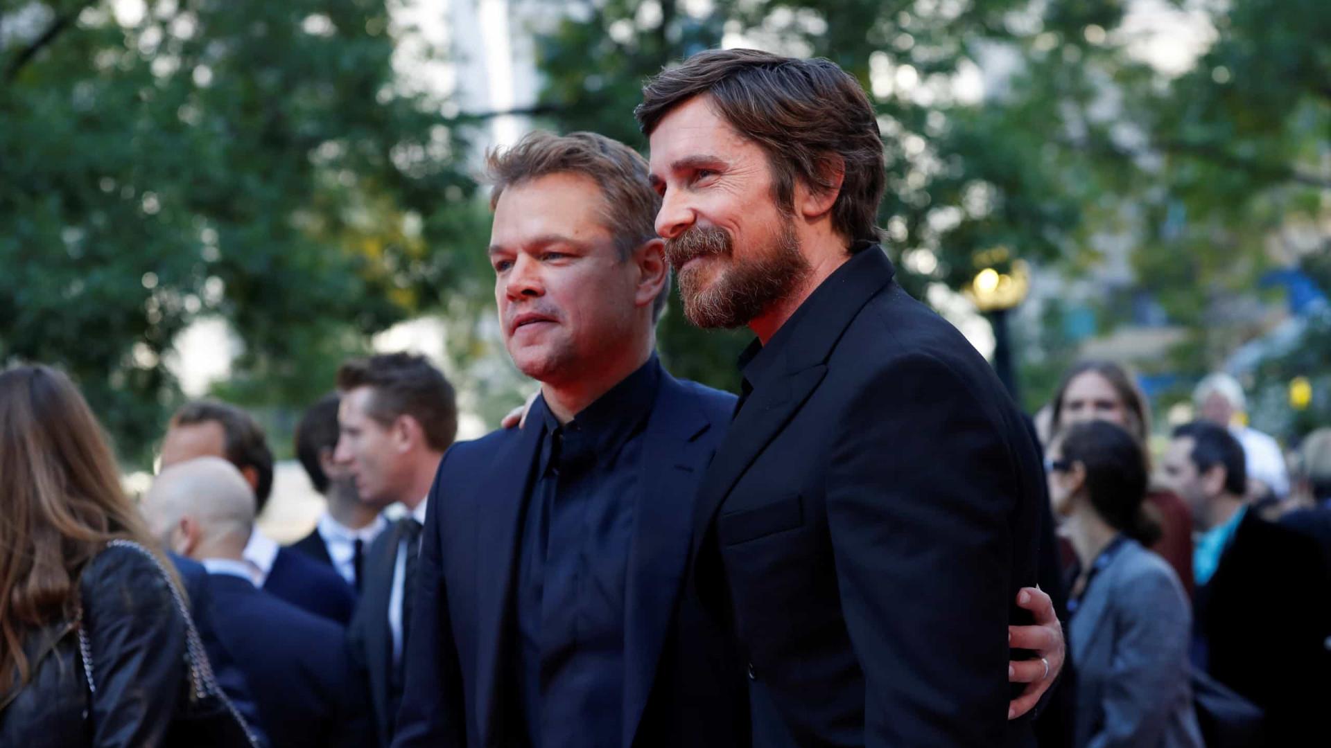 'Ford x Ferrari' revela humor e ação com Christian Bale e Matt Damon