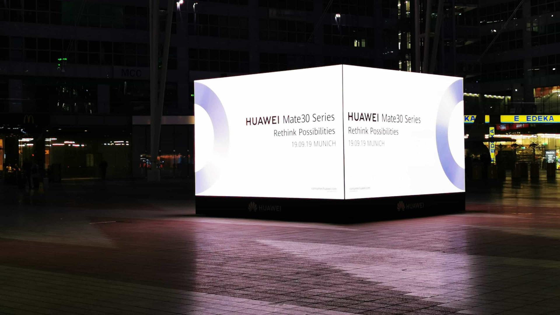 O momento da Huawei. Tudo o que a gigante chinesa pode apresentar