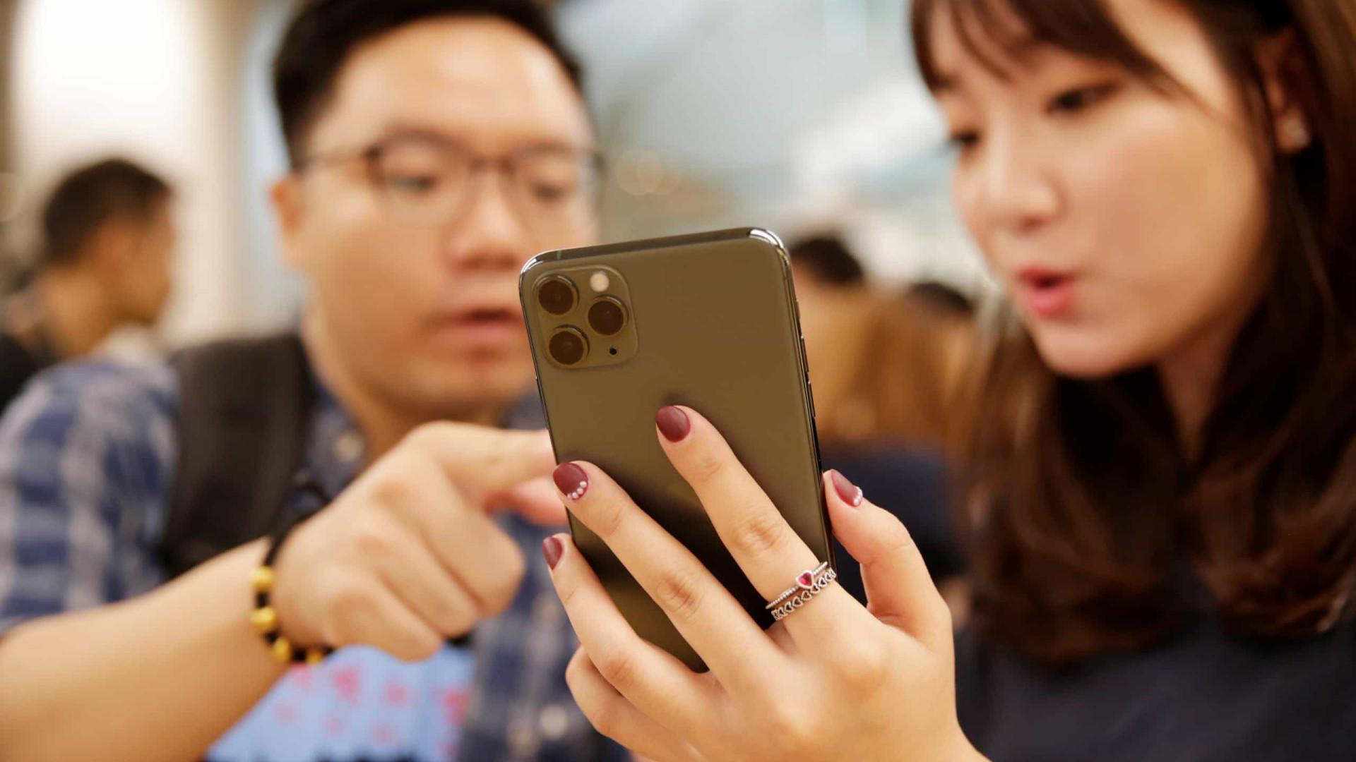 Apple espera vender mais iPhones do que o previsto