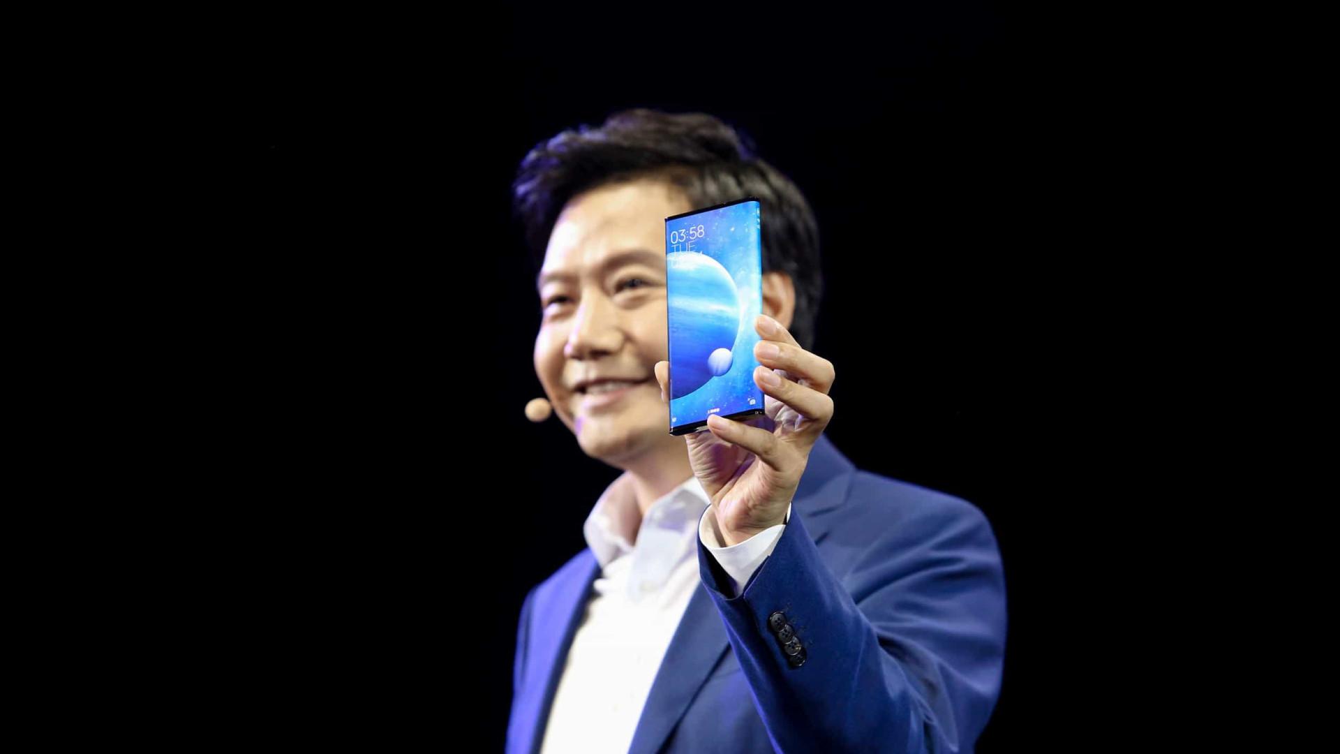 Nunca viu uma tela como a do novo smartphone da Xiaomi