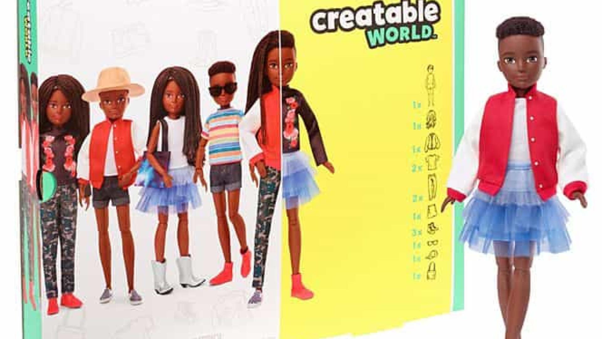 """""""Uma boneca para todos"""". Mattel lança 'Barbie' sem gênero"""