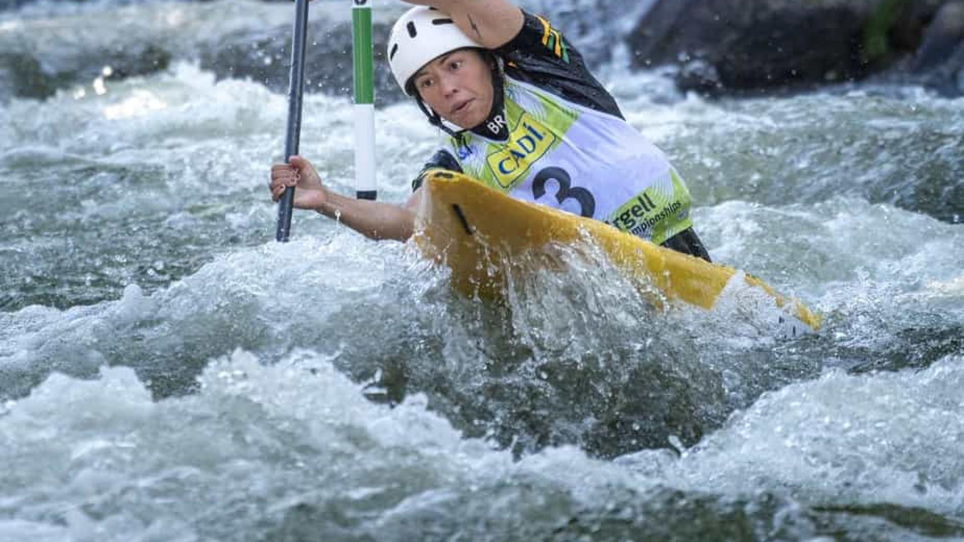 Ana Sátila e Pepê asseguram mais 2 vagas olímpicas na canoagem slalom