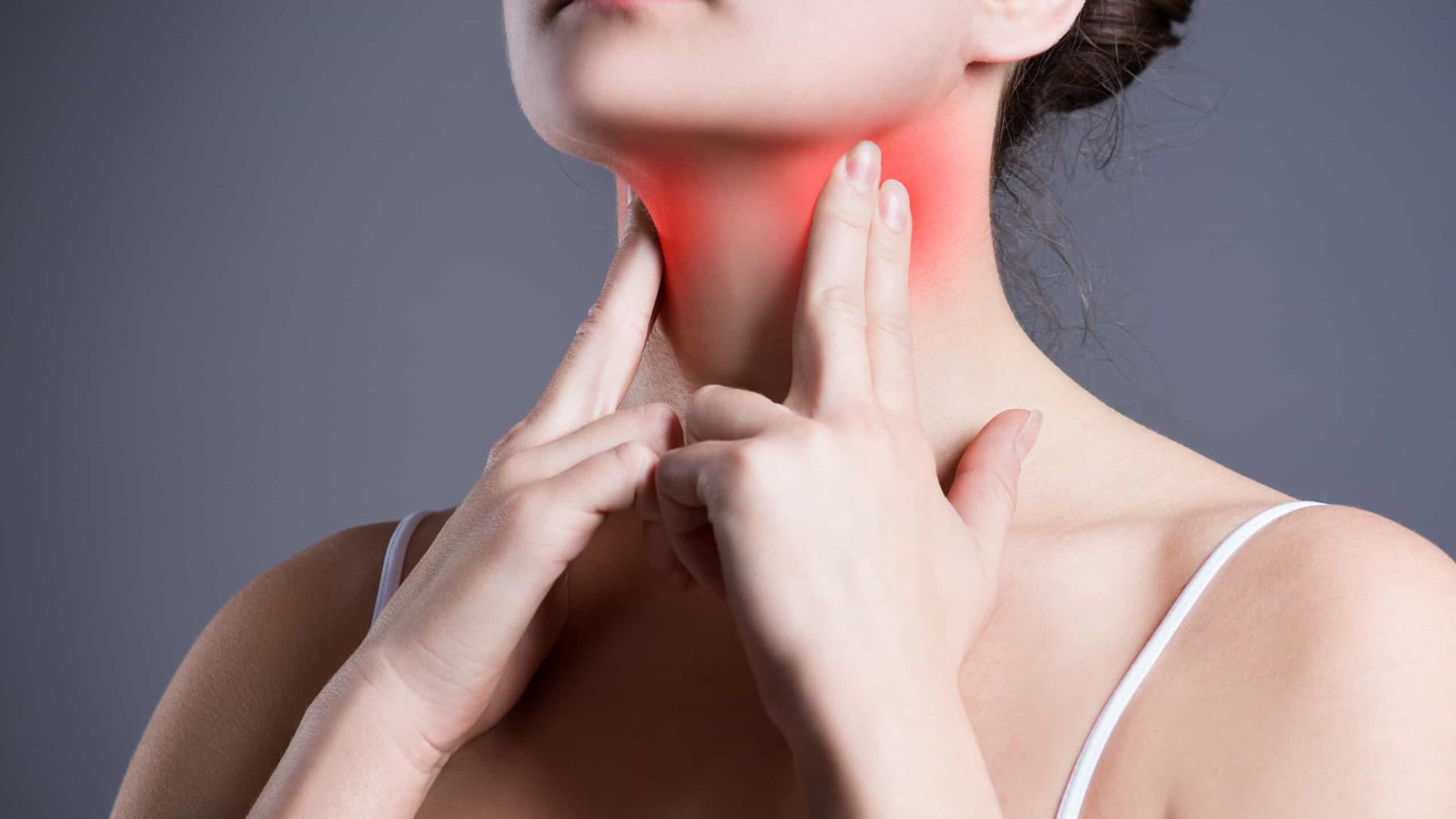 Oito sinais de que você pode estar sofrendo de doença da tiroide