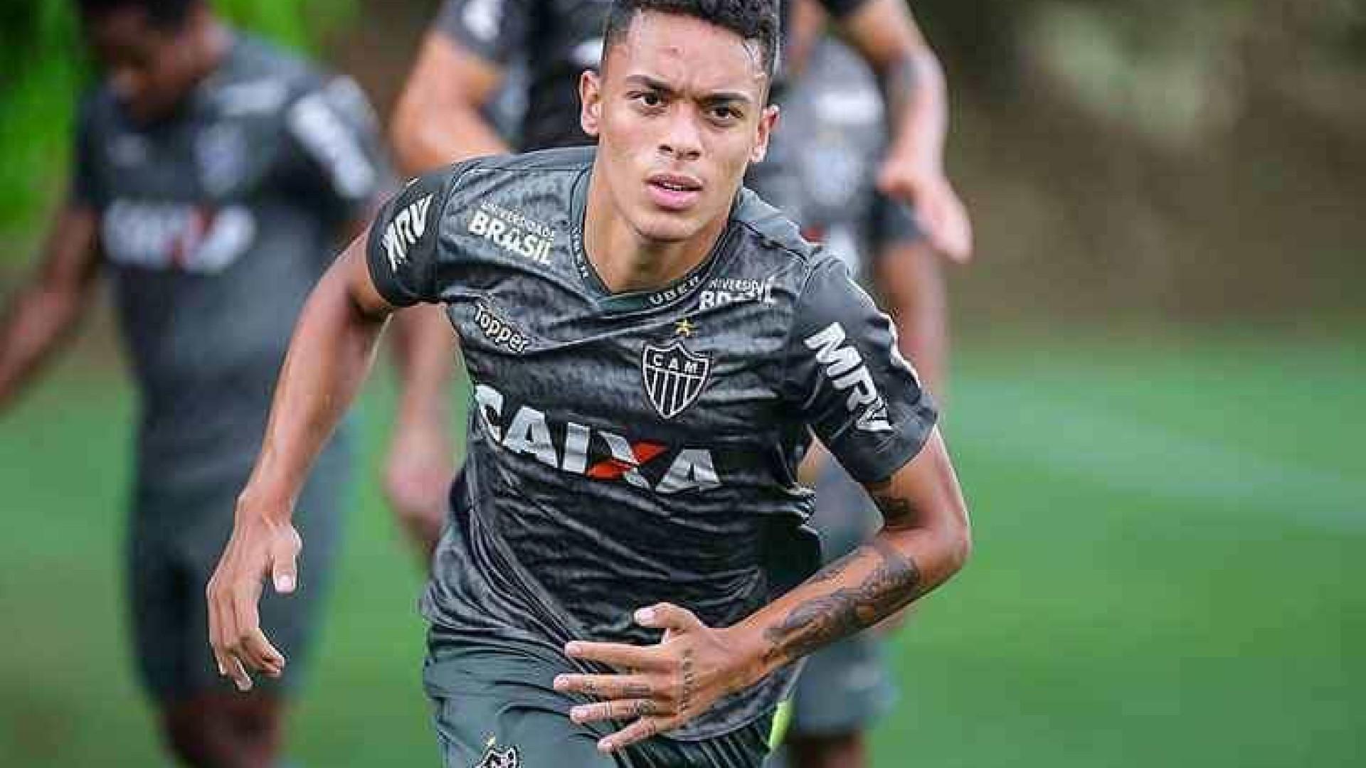 Recuperado de lesão, Bruninho volta a ser opção no Atlético-MG