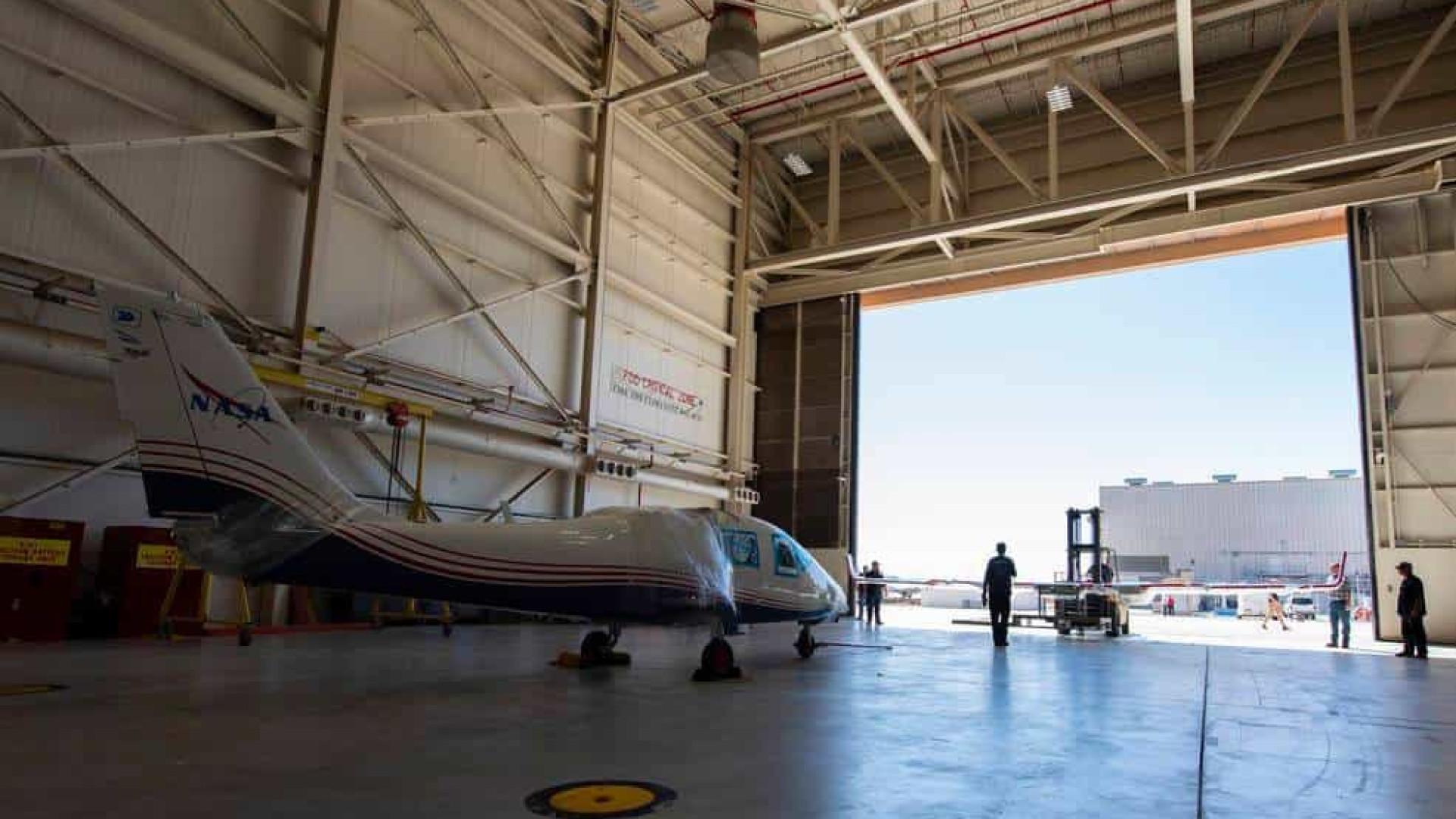 NASA começará a testar avião elétrico experimental