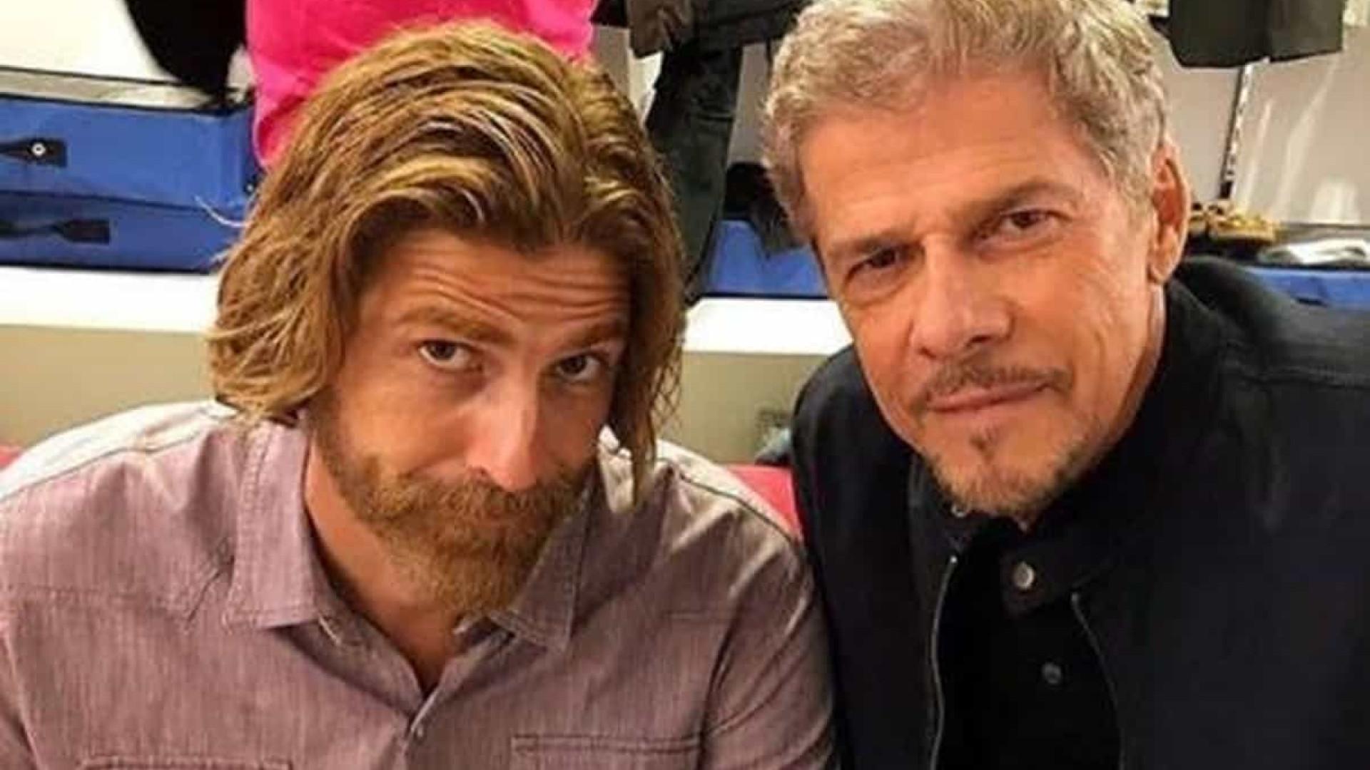 Reynaldo Gianecchini é criticado por postar foto com José Mayer