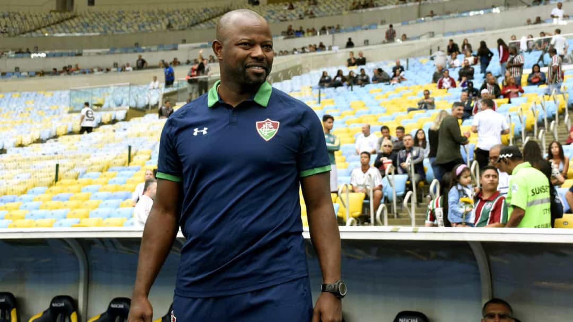 Marcão é efetivado como técnico do Fluminense