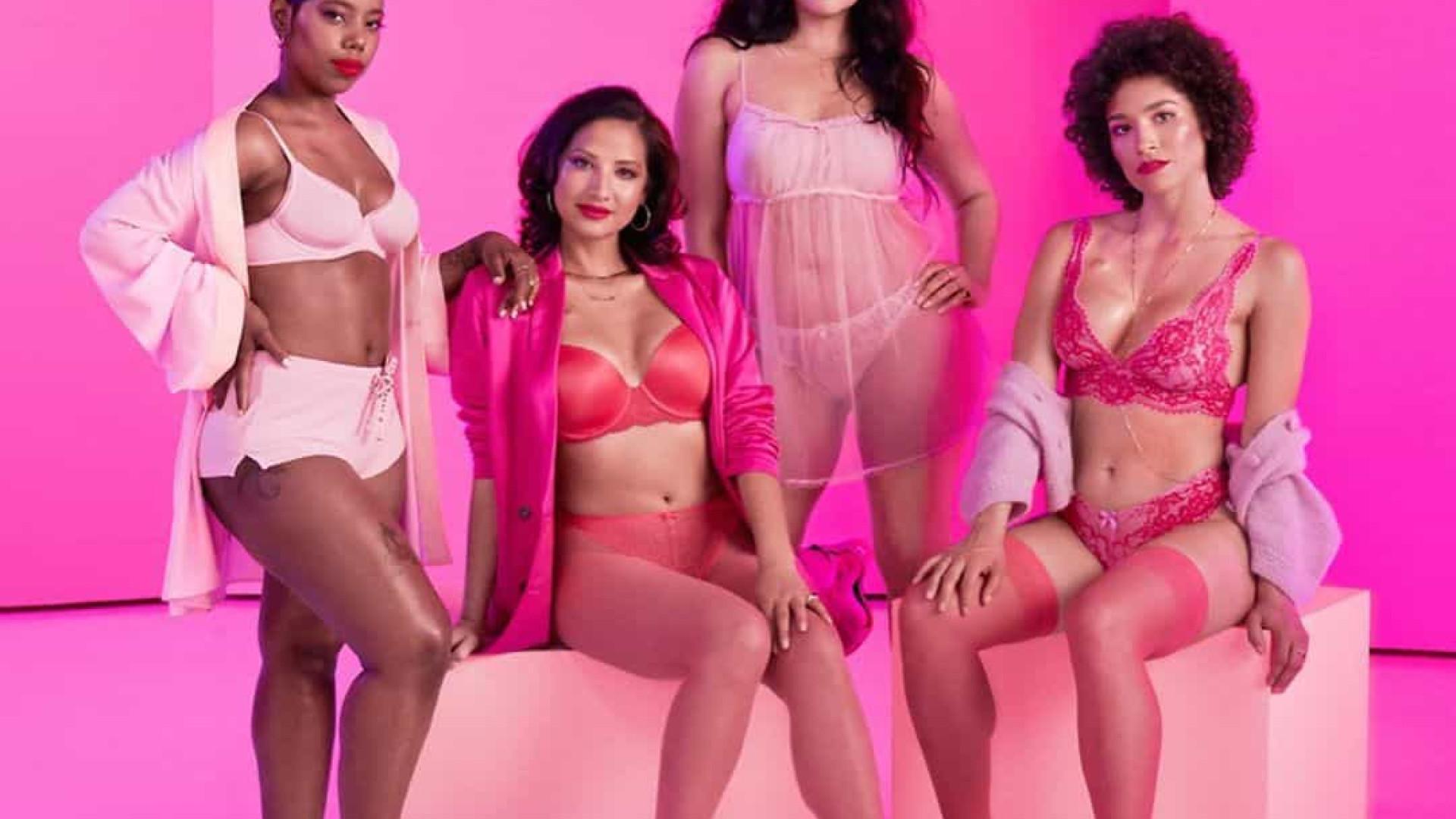 Rihanna lança roupas íntimas na luta contra o câncer de mama