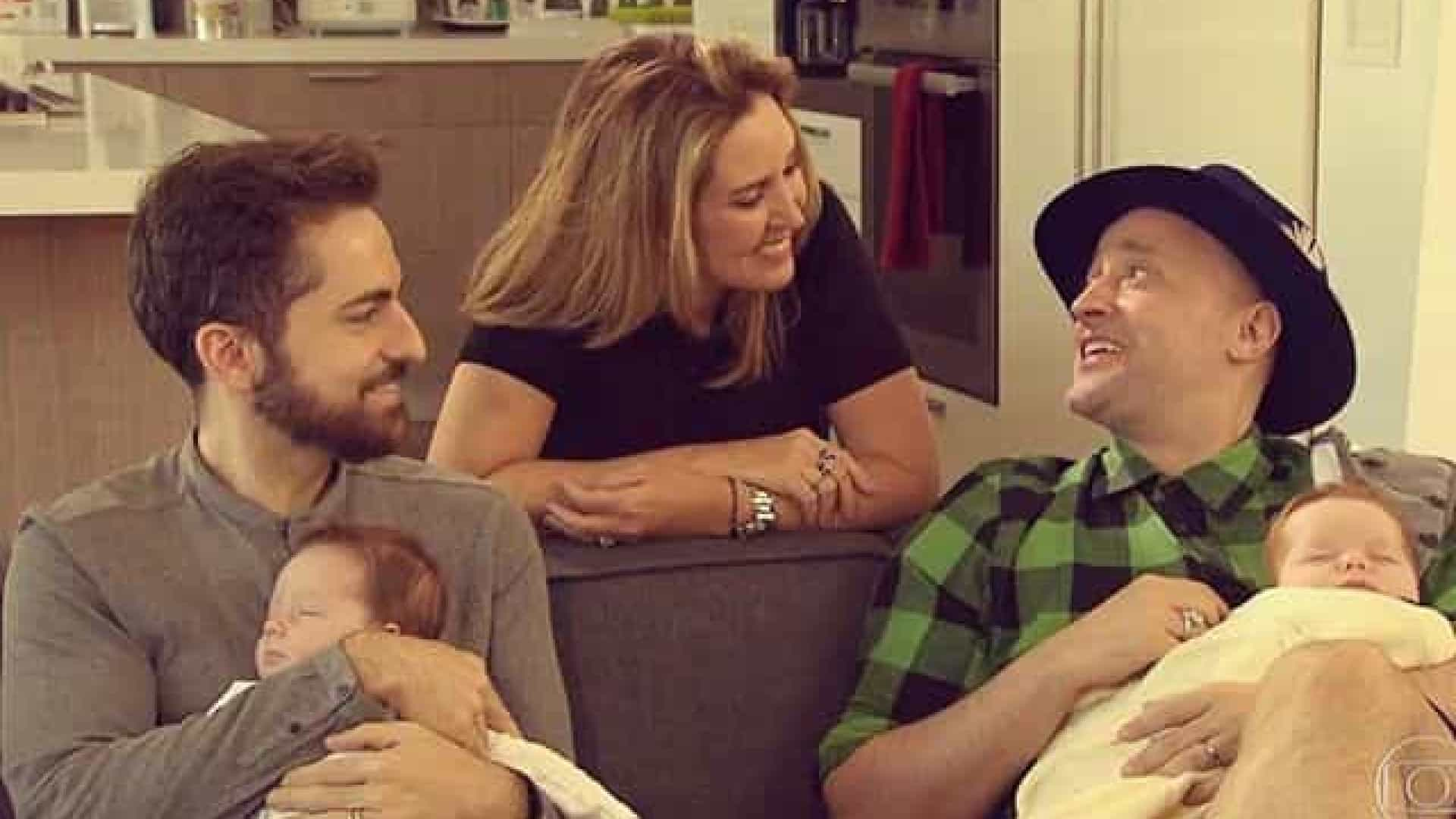 Paulo Gustavo mostra pela primeira vez rosto dos filhos gêmeos