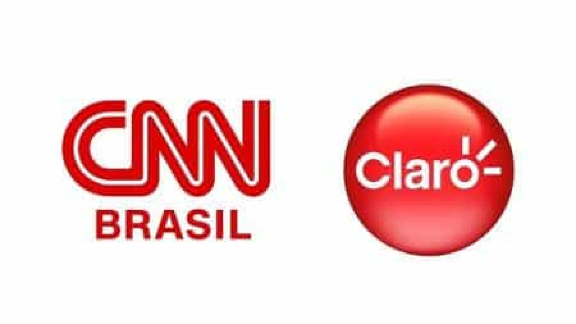 CNN Brasil fecha acordo para ser exibida na Claro Net