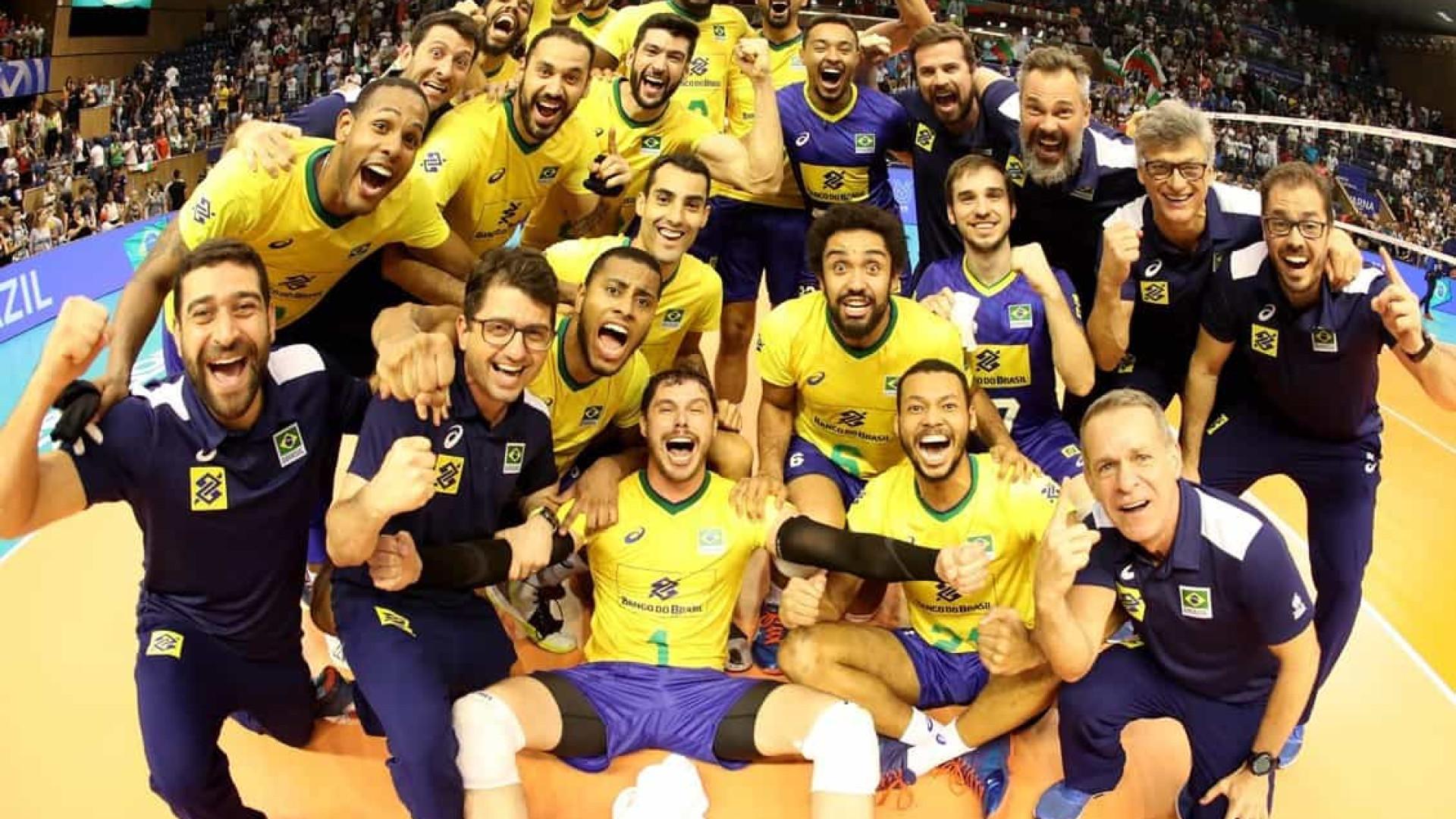 Copa do Mundo de vôlei masculino: Brasil 100%