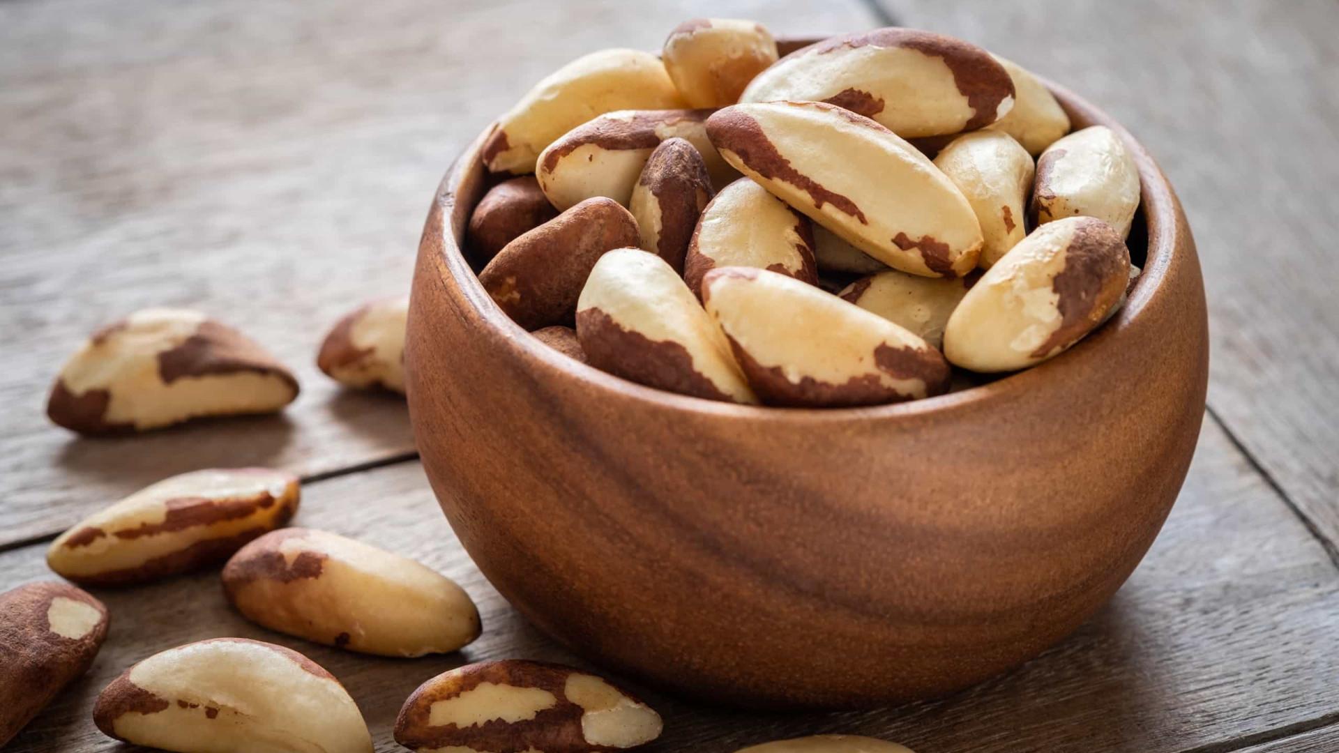 Os benefícios da castanha-do-Brasil para o colesterol