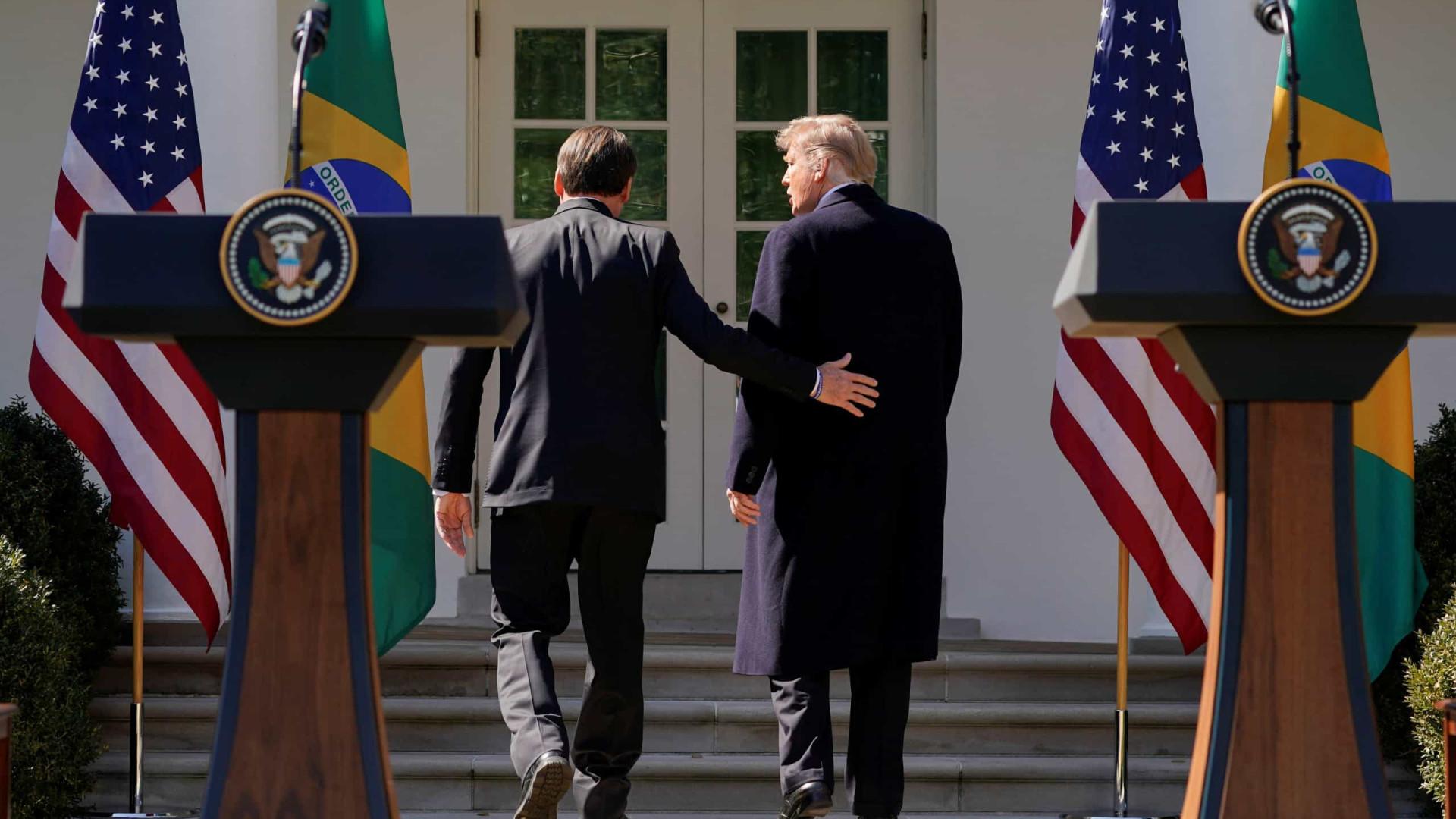Trump: 'Declaração em março deixa claro que apoio o Brasil na OCDE'