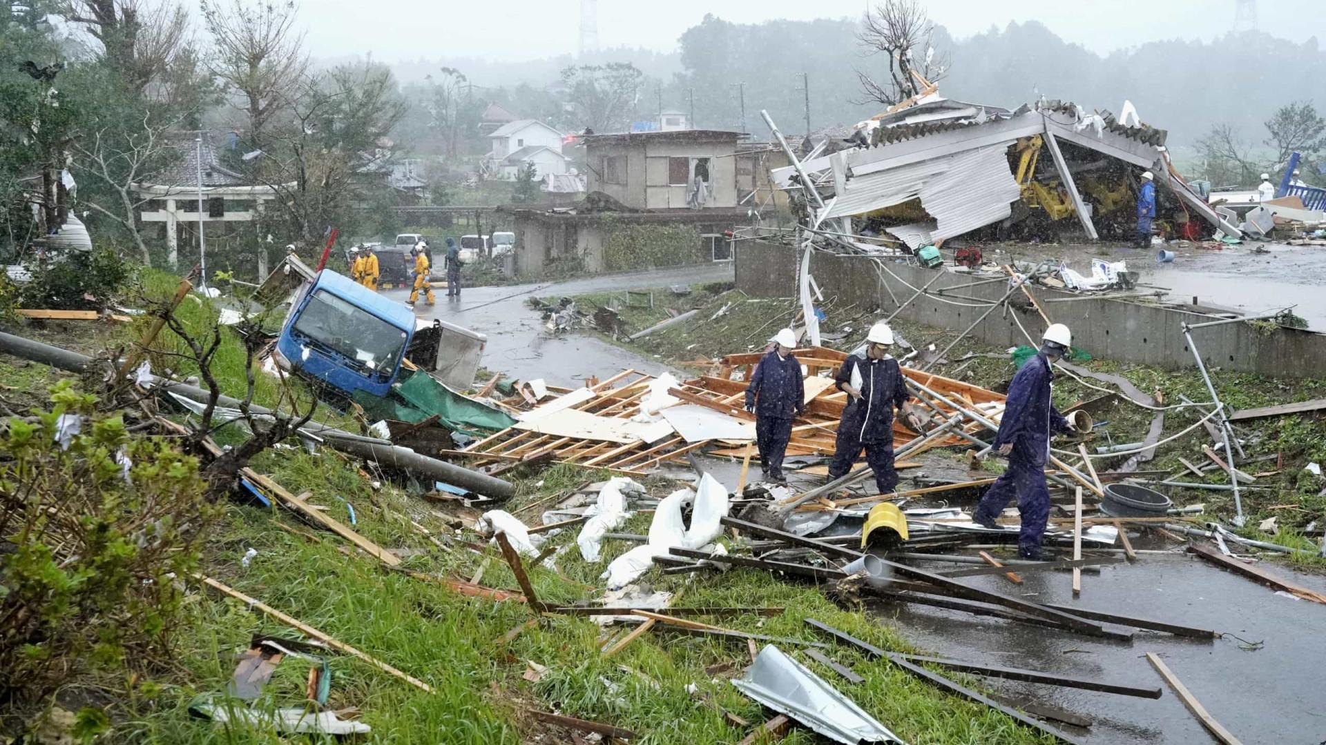 Tufão Hagibis causa dezenas de mortes no Japão