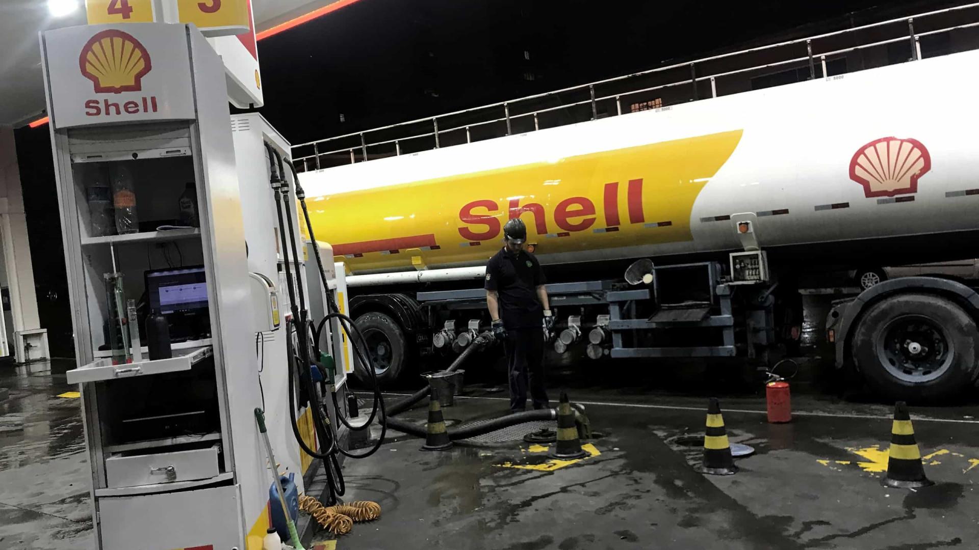Em nota, Shell afirma que não transporta óleo cru em tambores
