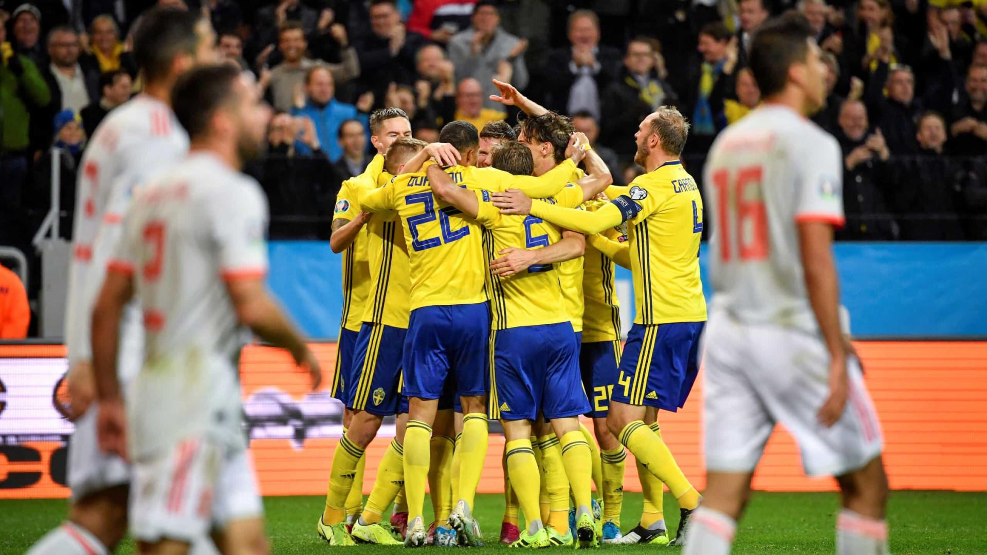 Espanha empata nos acréscimos com Suécia e garante vaga na Eurocopa