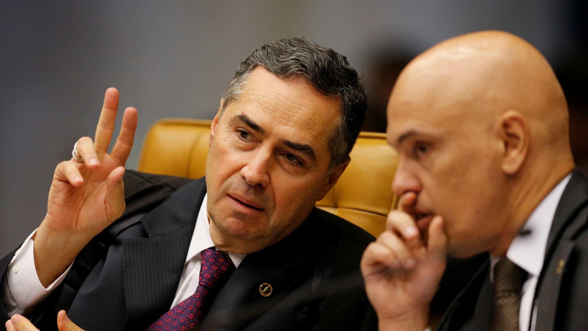'Respeite os colegas!', diz Toffoli a Barroso em sessão tensa