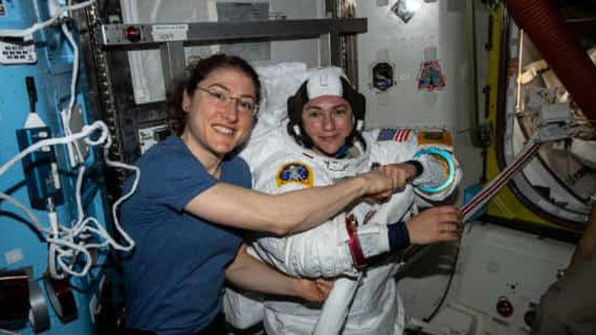 Ao vivo: acompanhe a primeira caminhada espacial 100% feminina