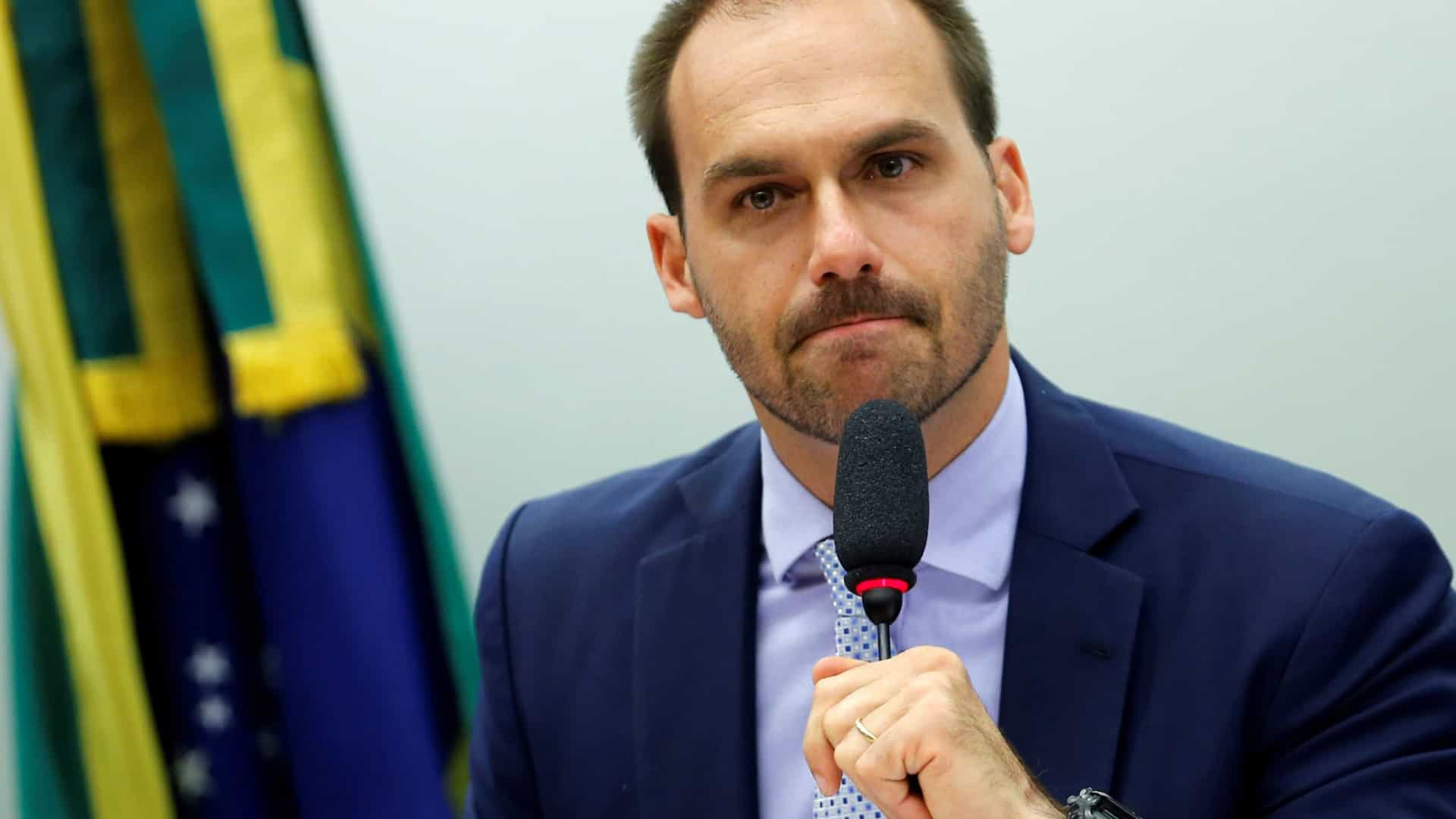 Eduardo Bolsonaro diz que antipetismo se unirá com soltura de Lula