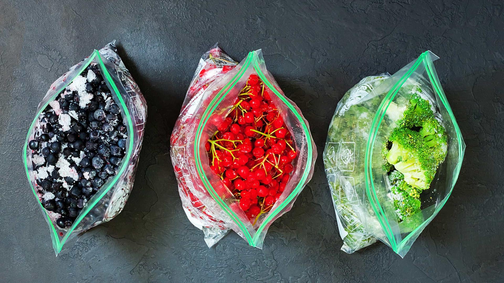 Legumes e frutas congelados têm menos nutrientes do que os frescos?
