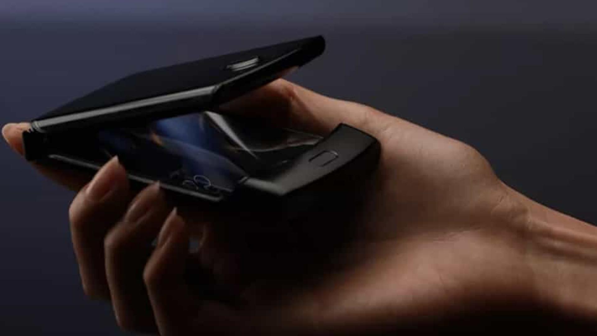 Motorola Razr de tela dobrável pode ter sido revelado antes de tempo