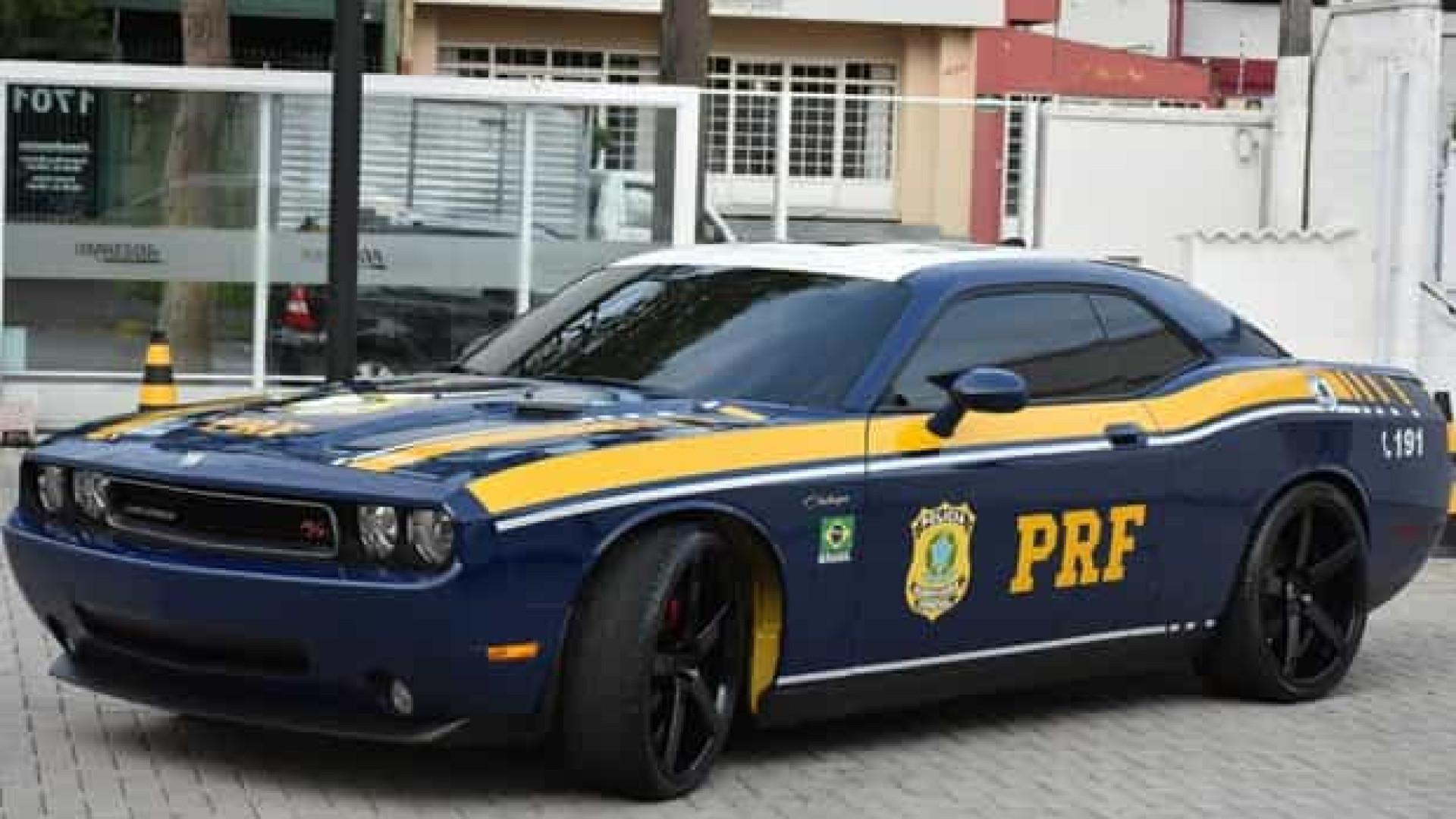 PRF vai usar esportivo norte-americano para patrulhar fronteira