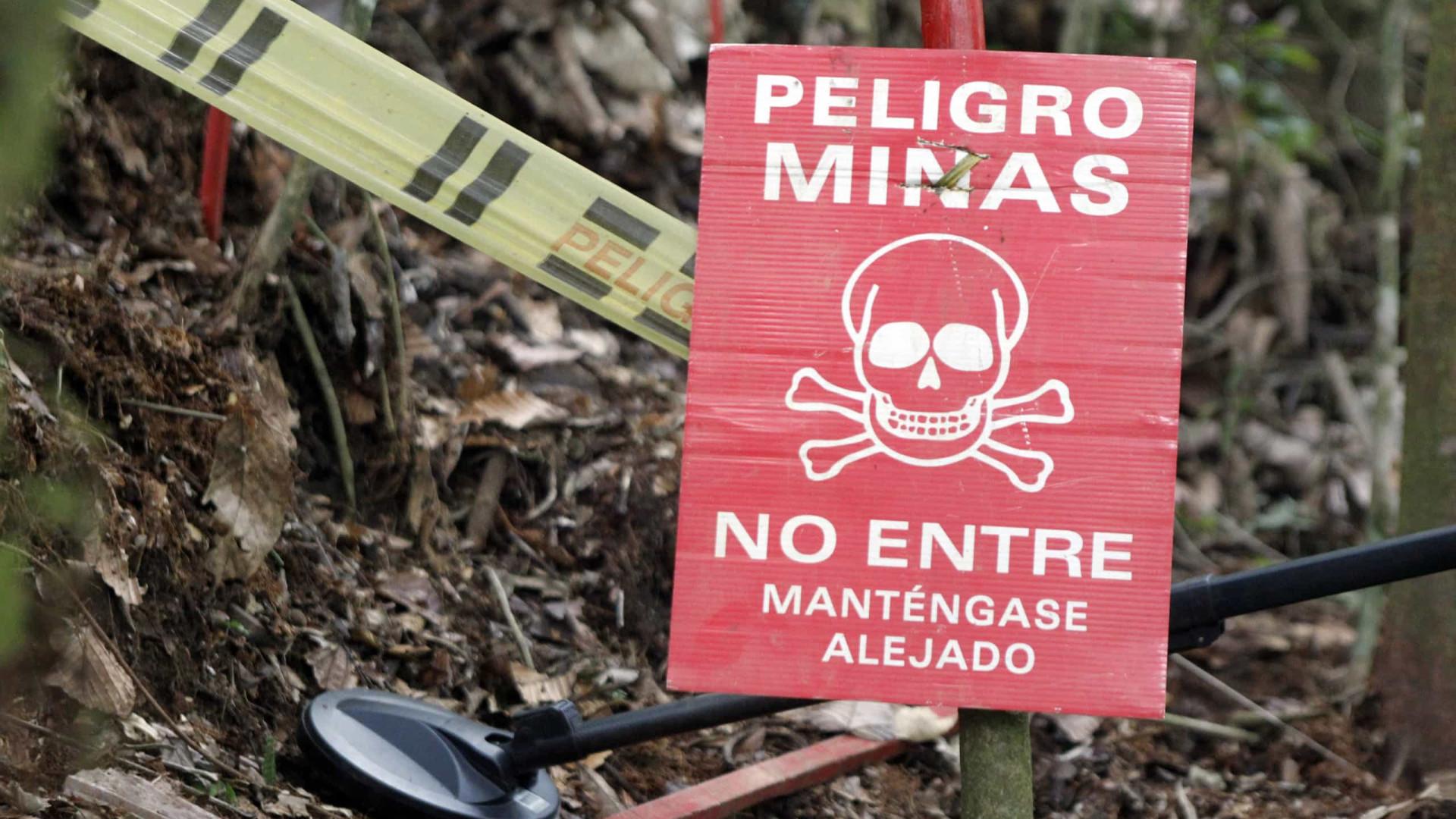 Nove crianças morreram em explosão de mina