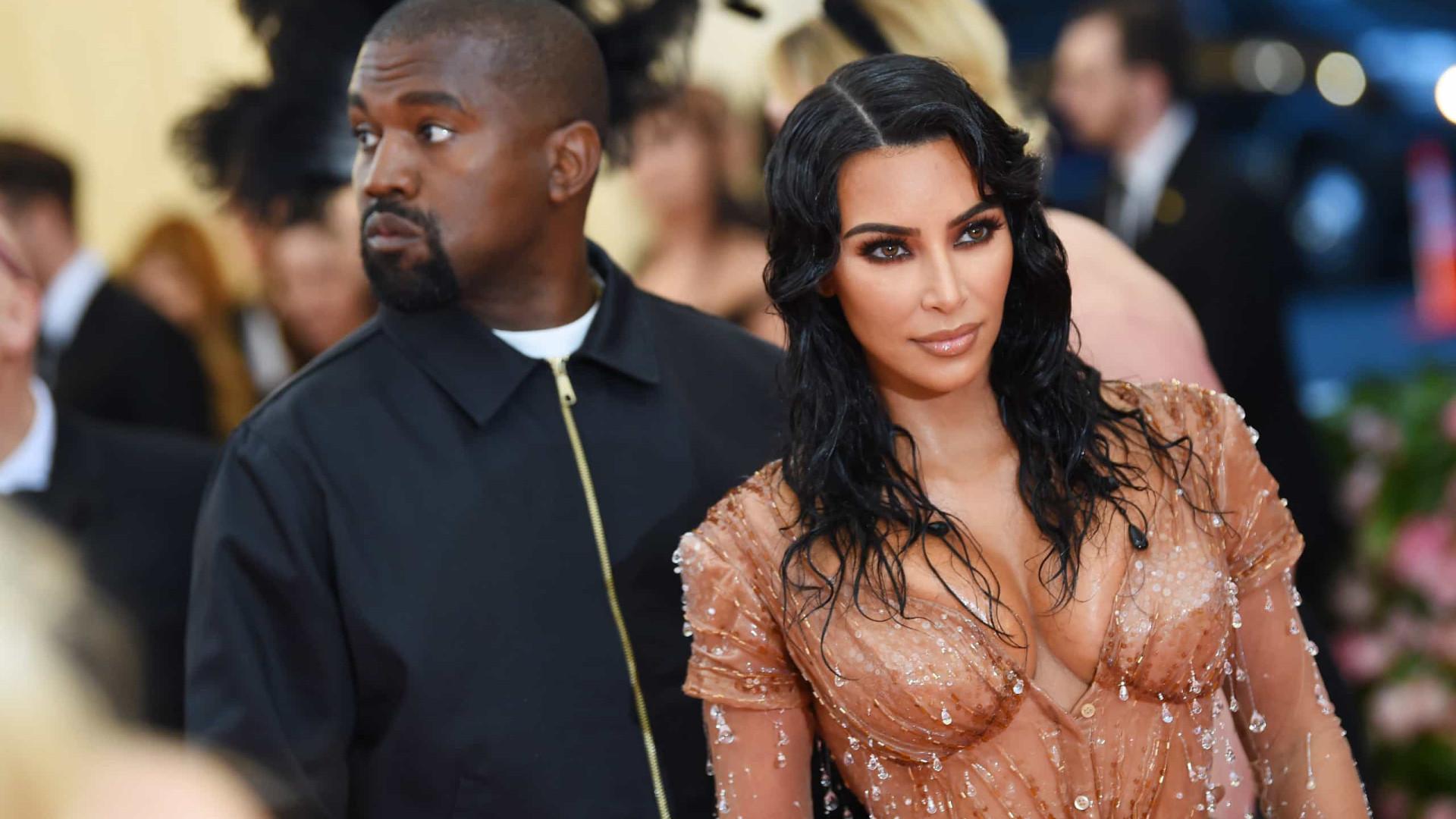 Natal 2019: A foto oficial de família de Kim Kardashian e Kanye West