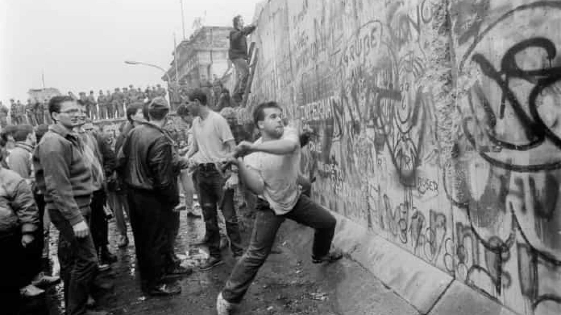 9 de novembro : 30 anos da queda do muro de Berlim