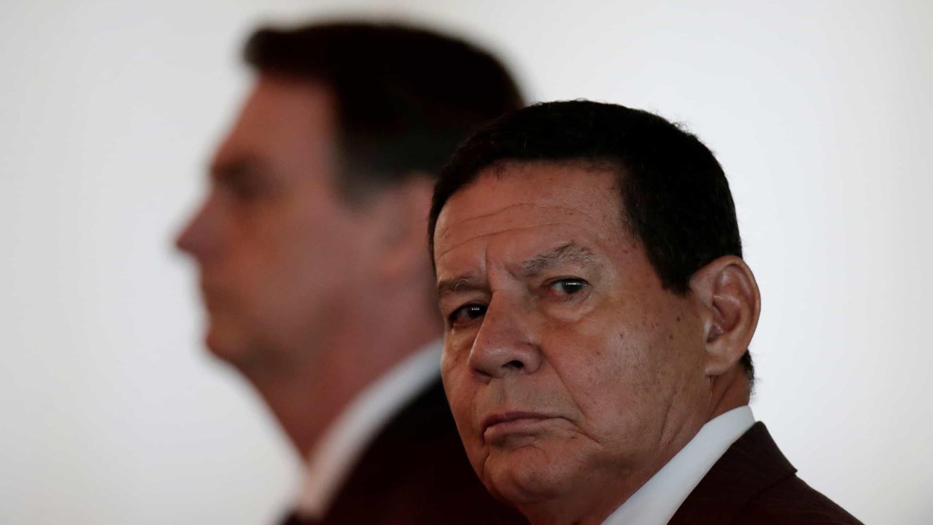 Mourão defende nova CPMF para financiar Renda Brasil