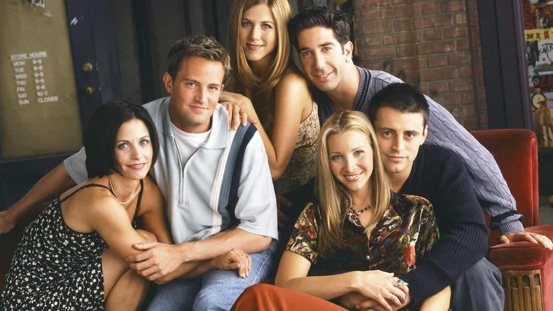 Reunião de 'Friends' está prevista para o final do ano